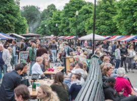 Pure Markt Locatie Park Frankendael sfeerimpressie
