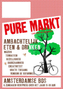 poster Amsterdamse Bos Pure Markt